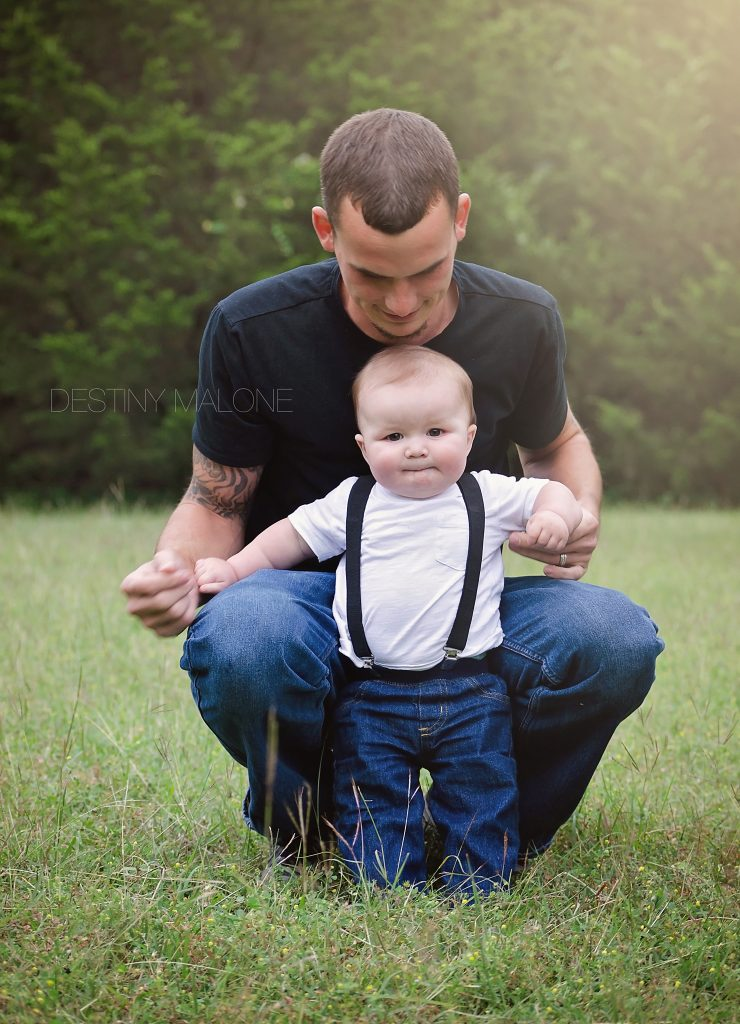 father son family photography