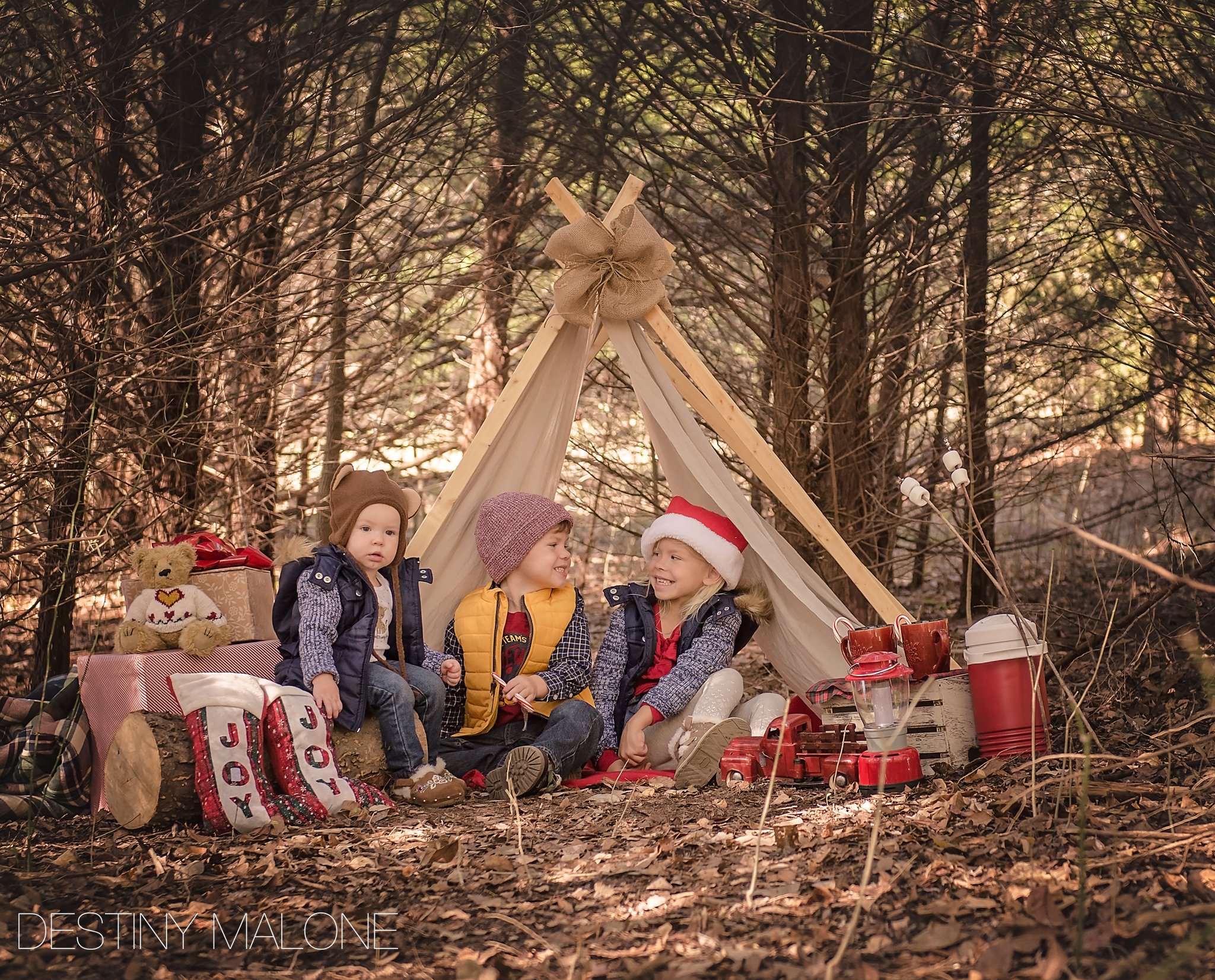Christmas Campout Mini Session
